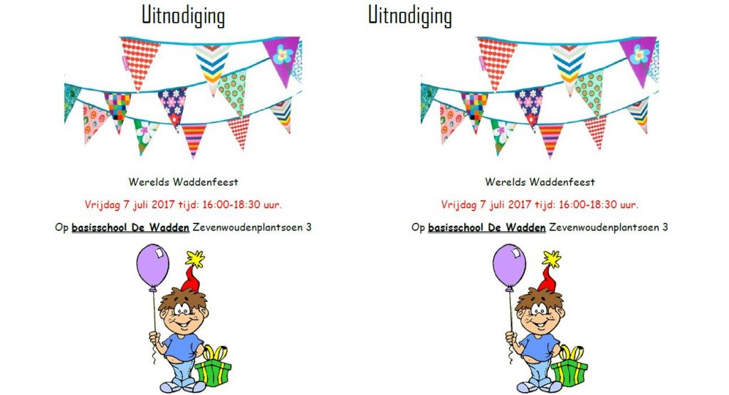 Werelds Waddenfeest