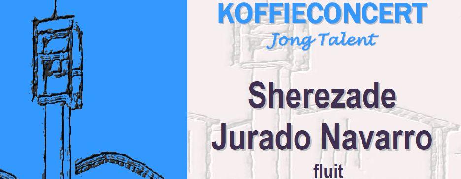 Koffieconcert Jong Talent – door Sherezade Jurado Navarro (fluit)