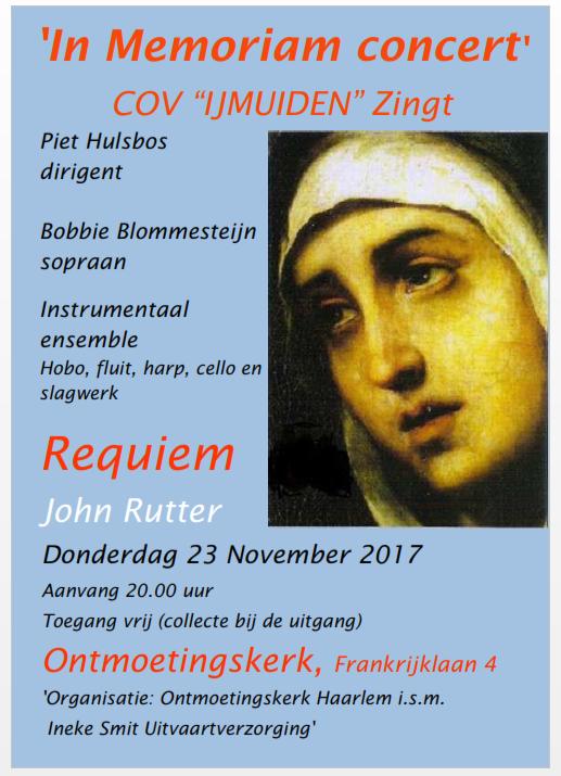 In Memoriam Concert Haarlem