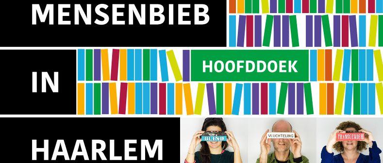 Levende boeken in winkelcentrum Schalkwijk