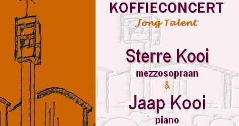 Koffieconcert Jong Talent 14 januari