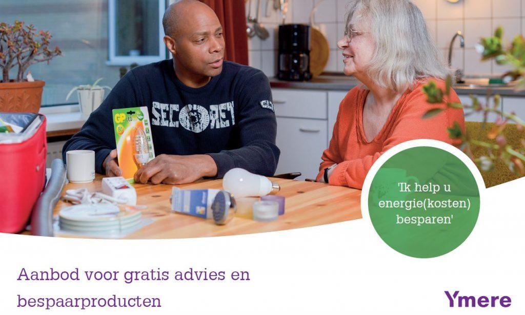 Gratis advies en bespaarproducten