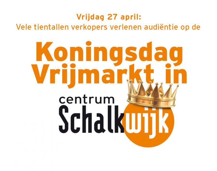 Koningsdag Vrijmarkt in Schalkwijk