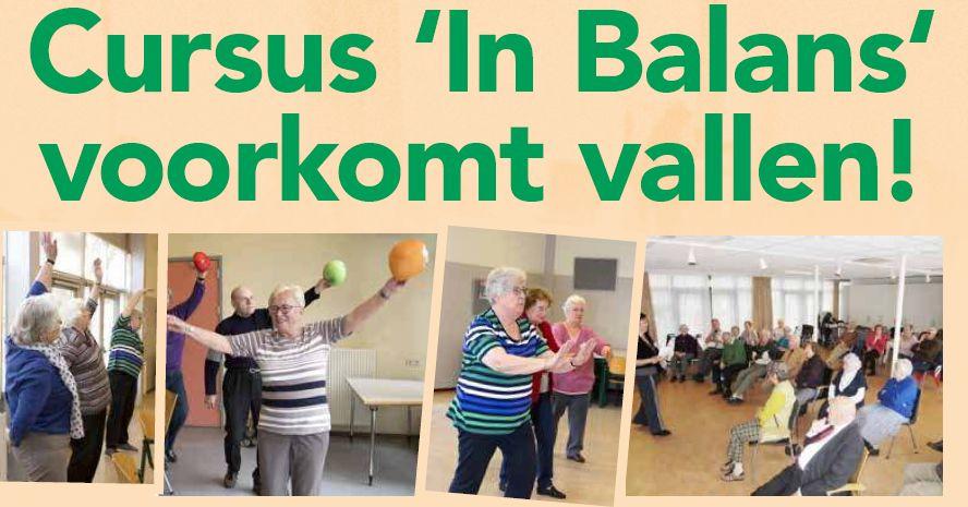 Cursus 'In Balans' voorkomt vallen!