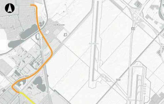 Start fase 1werkzaamheden Busbaan R-net Haarlem-Schiphol