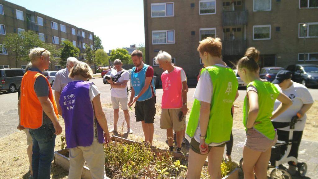 Dromenvangersproject bewoners Molenwijk