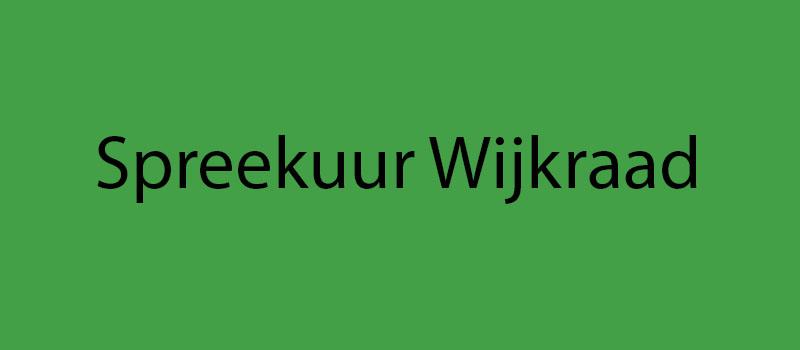 Spreekuur Wijkraad Politie en Handhaving