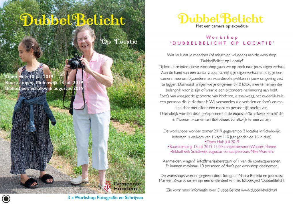 Foto-project 'Dubbel belicht'