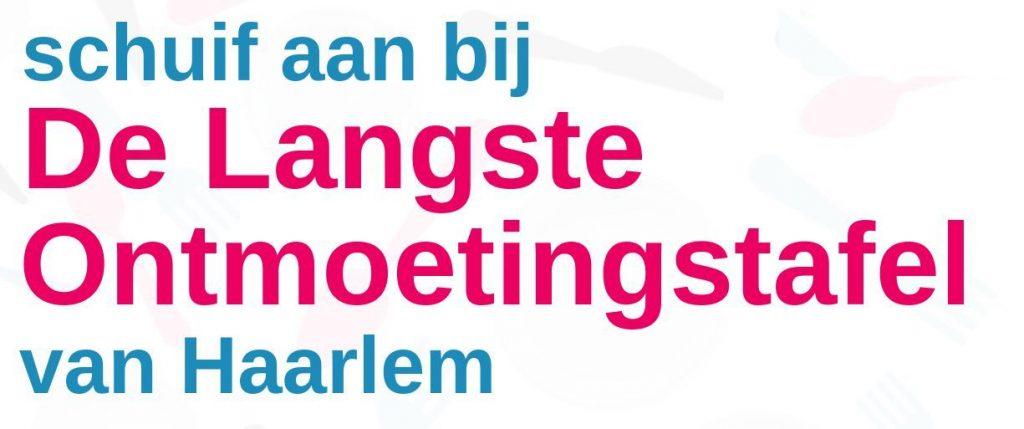Langste Ontmoetingstafel van Haarlem