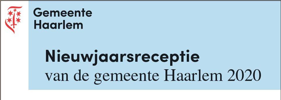 Nieuwjaarsreceptie gemeente Haarlem 2020