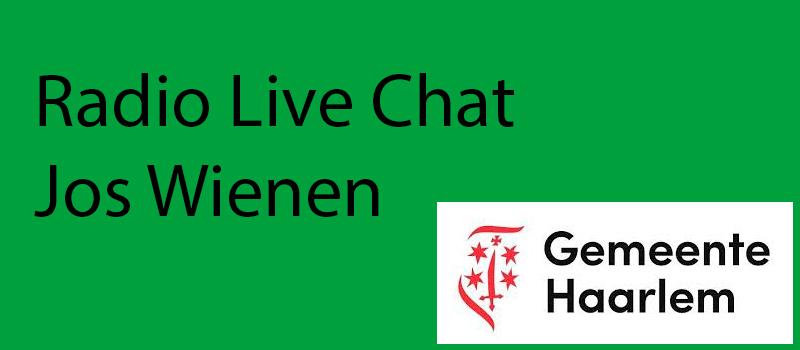 Radio-livechat burgemeester Jos Wienen
