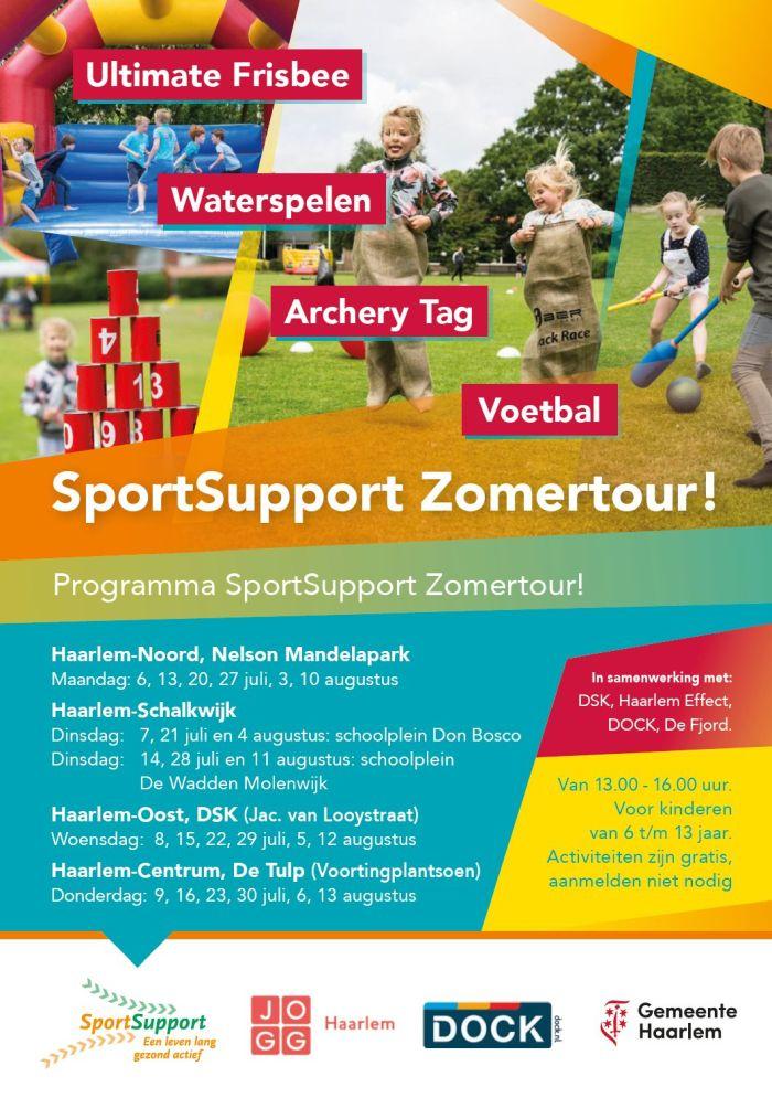 SportSupport Zomertour!