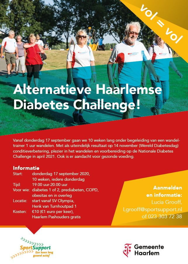 Alternatieve Diabetes Challenge