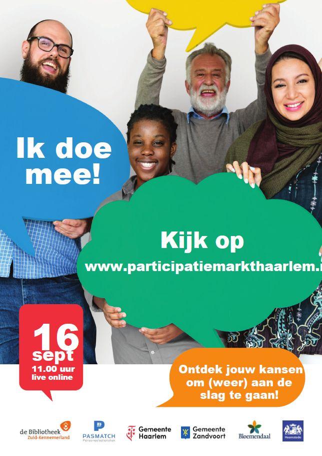 Participatiemarkt Online!