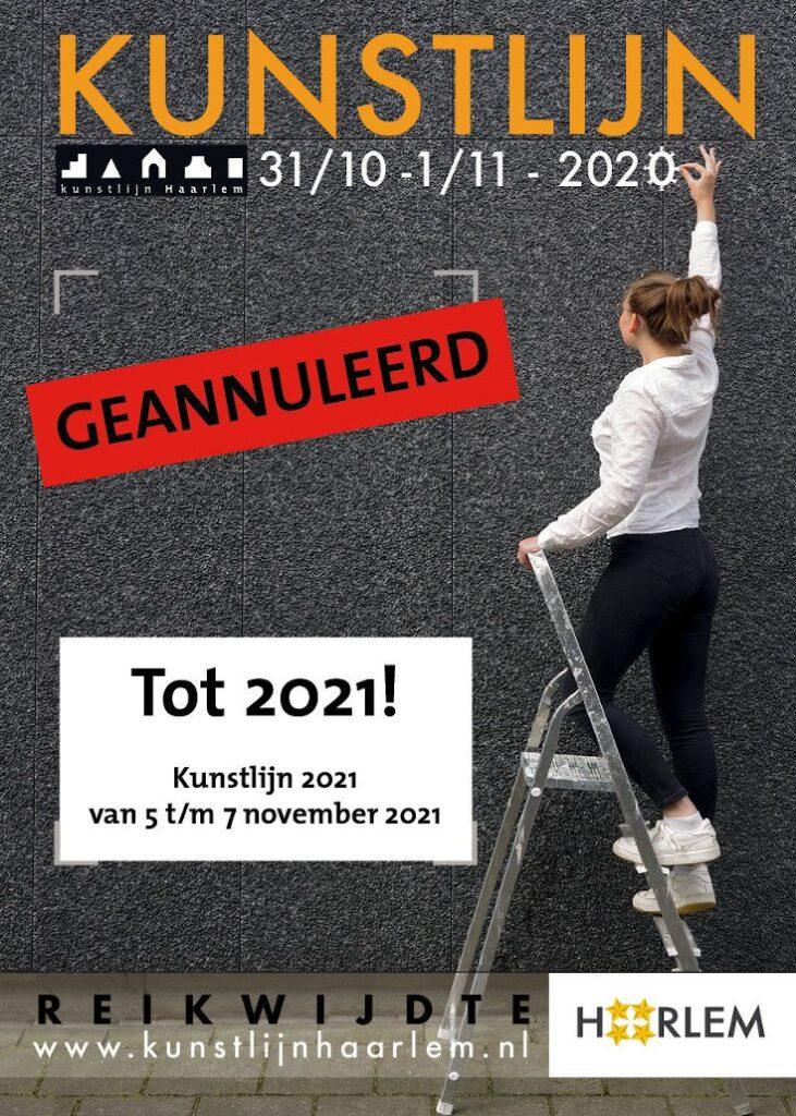 Kunstlijn 2020 geannuleerd