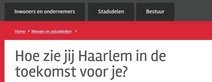 Toekomst van Haarlem