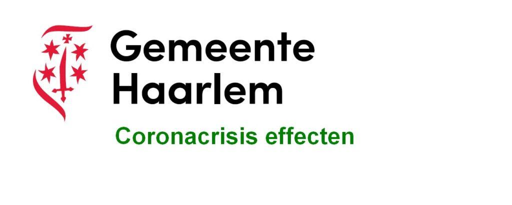 Effecten van de coronacrisis voor Haarlem
