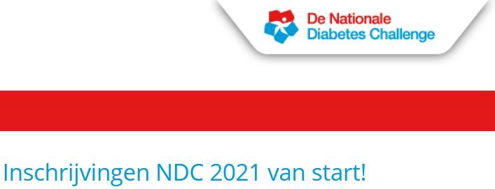 20 mei start Nationale Diabetes Challenge 2021