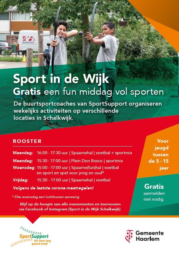 Sport in de wijk